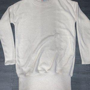 new free people oversized sweatshirt dress Sz XS